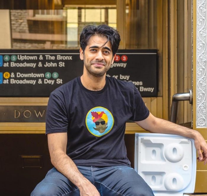 Shiraz Noor co-founder of Chaat