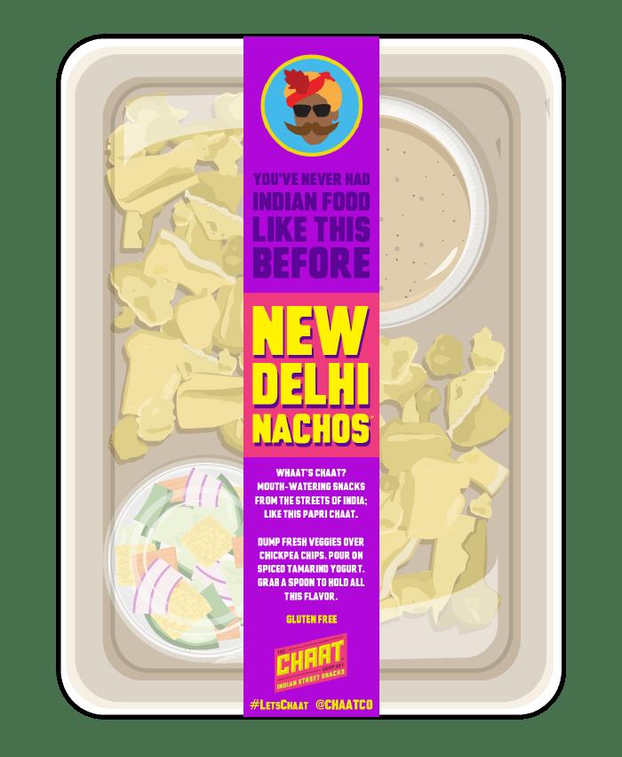 New Delhi Nachos